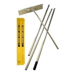 Snow Roof Rake, 16 Ft, 24 In Blade Size by Midwest Rake