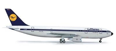 Daron Herpa Lufthansa A300B2 Reg#D-AIAC Model Kit (1/200 Scale)