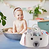 Conthfut Baby Diaper Caddy Organizer 100% Cotton