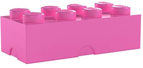 LEGO Bright Purple Storage Box Brick 8