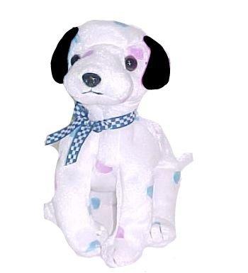 """TY 2001 Beanie """"Dizzy Dog Puppy """" Blue & Purple Ears ~NWNMT"""
