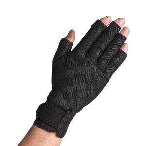 DSS Thermoskin Arthritic Glove, Small, Black, Latex-free