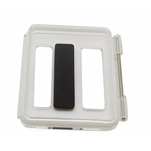 Williamcr Clear Backdoor Cover Replacement with Hole for Official Original GoPro HERO3+ PLUS Skeleton Housing Case