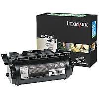 Lexmark Genuine Brand Name, OEM 64075HA Return Program High Yield Black Toner Cartridge (21K YLD) (GSA Compliant alternative to (21k Black Toner)