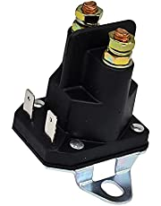 Disenparts 12V Plastic Spade Contactor 4-Pole 862-1241-211-12 1-8604 145673 146154 175141 178861 168327 170051 For ATV Utility Vehicle Snowmobile Golf Cart Lawn Mower Garden Tractor