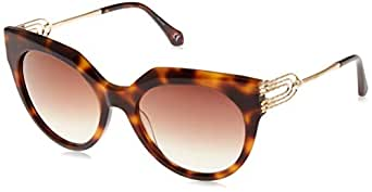 ROBERTO CAVALLI Unisex Adults' RC1065 52G 56 Optical Frames, Brown (Avana SCURA\\Marrone SPECCHIATO), Size 135 mm