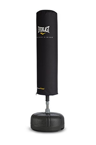 Everlast 2262 Adults' Floor-Standing Punching Bag – 1 Size – Black by Everlast – DiZiSports Store
