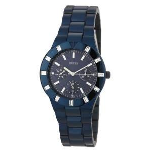 Guess W0027L3 Women's Sport Multifunction Blue Plated Bracelet Watch