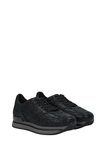 Nero Hxw2220m467977b999 Nere Hogan 3uk Delle Sneakers Pelle Scamosciata Donne xpC1w7q