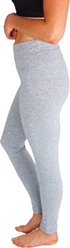 Foldover Waistband Stretchy Workout Leggings product image