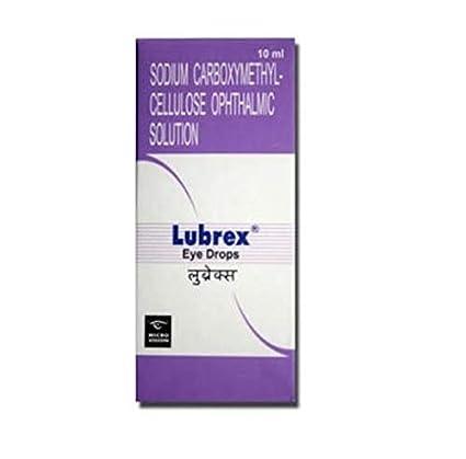 Lubrex eye drops - 10 ml (DL Reqd) (MFR: Micro Labs Ltd): Amazon.in:  Industrial & Scientific