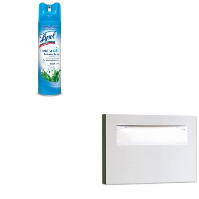 KITBOB221RAC76938EA - Value Kit - Bobrick Stainless Steel Toilet Seat Cover Dispenser (BOB221) and Neutra Air Fresh Scent (RAC76938EA)
