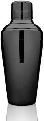 バロン510 プレミアムコブラー/カクテルシェイカー ブラック仕上げ 18-8ステンレススチール 高級バーテンダーツール/バー用品 バーテンダー/カクテル愛好家用