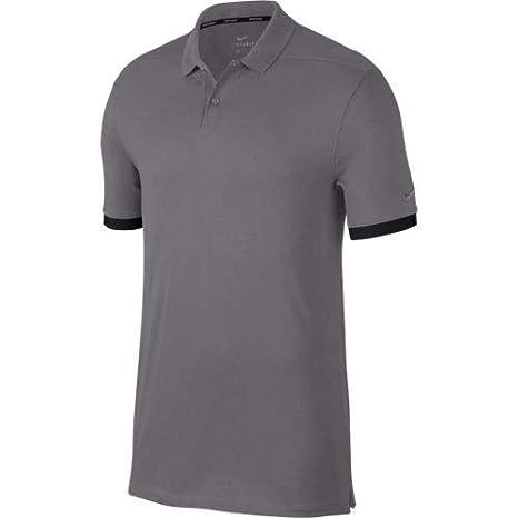 Nike Dry Polo, Hombre, Black/Gunsmoke, XL/T: Amazon.es: Deportes y ...