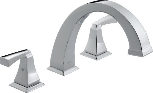 Delta T2751 Dryden Roman Tub Trim, Chrome ()