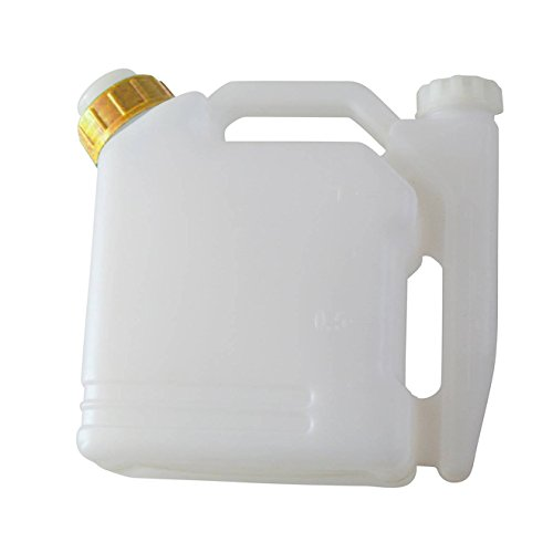 JRL 1L Portable 2-Stroke Fuel Petrol Oil Mixing Bottle 25:1/50:1 Chainsaw Strimmer