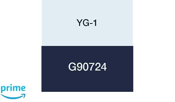 R.020 Radius YG-1 G90724 3//8 Carbide X-Speed Rougher Corner Radius End Mill Fine Stub Length Roughing Multi Flute