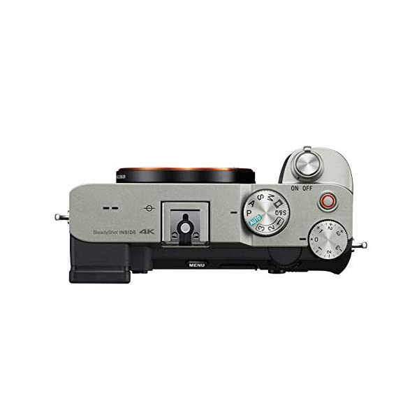 RetinaPix Sony Alpha ILCE-7C Compact Full Frame Camera (4K, Flip Screen, Light Weight, Real time Tracking, Content Creation) - Silver
