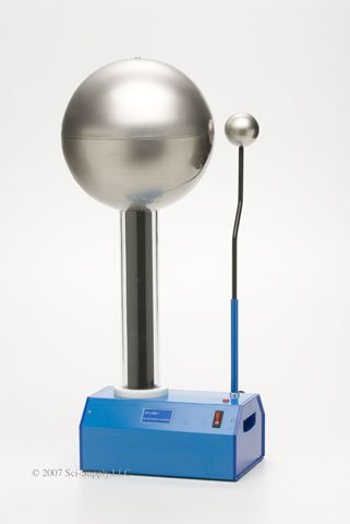 Van De Graaff Generator, 325KV, With Humidity Control