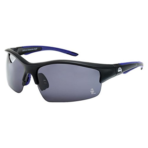 CA Accessories MLB Colorado Rockies Power Hitter Sunglasses, Black