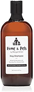 Dog Shampoo - 100% Organic, All Natural Hypoallergenic Chemical Free Shampoo, Suitable for Pets with Sensitive Skin, Nourishes and Soothes, Leaving The Coat Silky Soft. 500ml Bottle