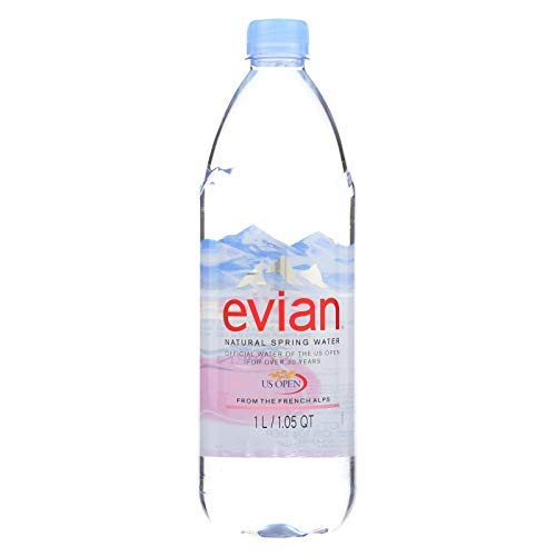 Evians Spring Water- 33.8 oz