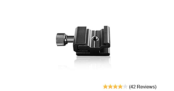 LimoStudio 2Pcs Hot Shoe Flash to Bracket//Stand Mount Adapter Trigger with 1//4 Female Thread Flash Shoe Mount + Screw Mount