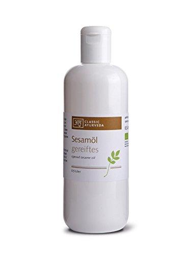 Classic Ayurveda Bio Sesamöl gereift, 500 ml