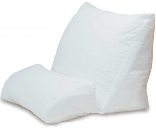 Best Pillow For Reading In Bed - Contour Products 10-in-1 Flip Pillow,