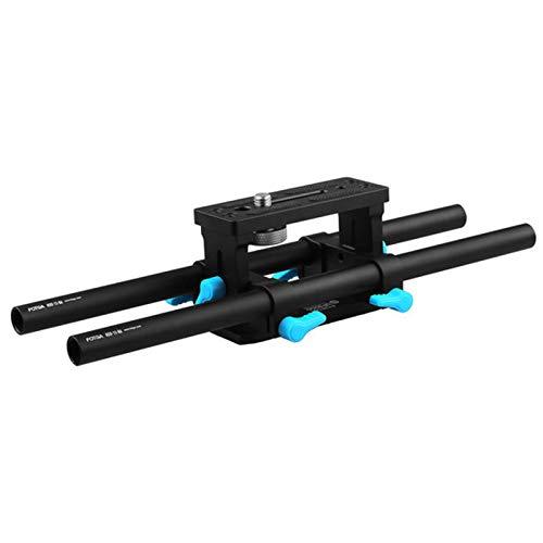 Foto4easy DP3000 M2 15mm Rail Rod Baseplate for HDV DSLR Cam