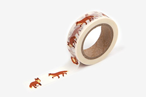 winter-fox-washi-tape