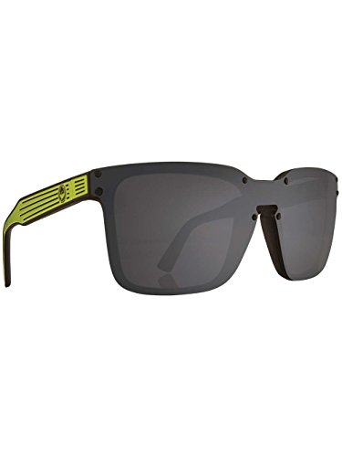 Dragon Mansfield Sunglasses Matte Lime/Grey, One ()