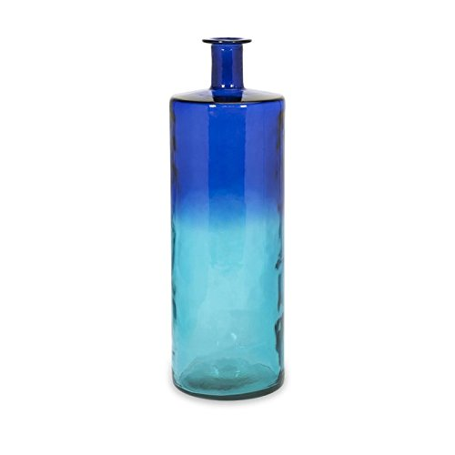 Imax 84525 Luzon Tall Oversized Recycled Glass Vase by Imax