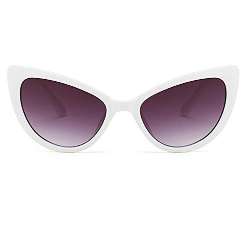 de C1 Lunettes Eyewear Œil mode Sunglasses yeux Lunettes Femmes de Gradient soleil Bmeigo Lens Retro Vintage chat axqZwzra1n