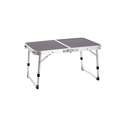 CampLand Aluminum Folding Table Outdoor Lightweight Portable for Camping, Beach, Backyards, BBQ , Party and Picnic