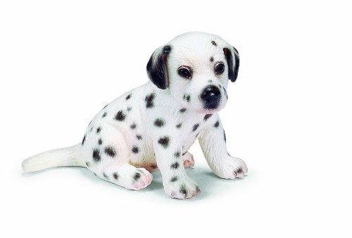 Dog Figurine Dalmatian (Schleich Sitting Dalmatian Puppy)