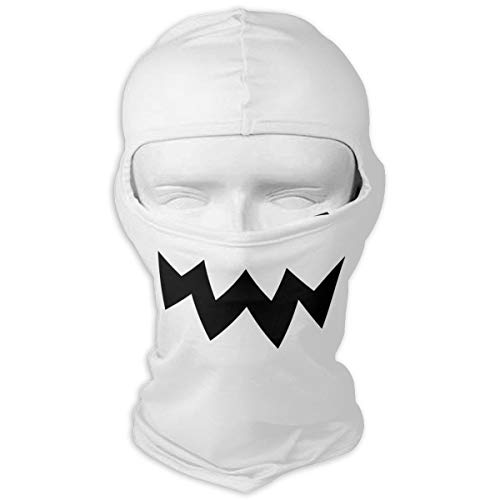 YISHOW Halloween Costume Party Scary Accessories Men Women Balaclava Neck Hood Full Face Mask Hat Sunscreen Windproof Breathable Quick Drying ()