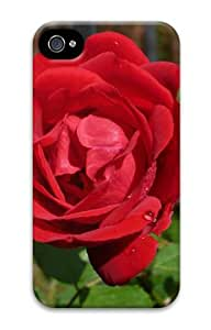 Wild Oklahoma Rose DIY Hard Shell 3D iphone 4/4s Case Perfect By Custom Service