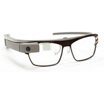 Amazon.com: RO-141 (Black) Prescription Frame for Google Glass ...