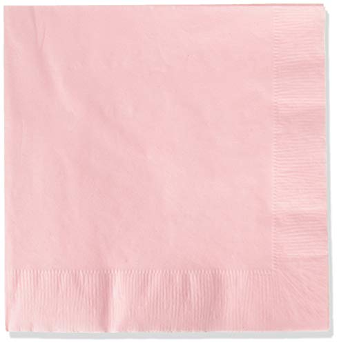 Creative Converting Party Tableware 2-Ply Luncheon Napkin, Party Supplies, One Size, Classic Pink, 50 -