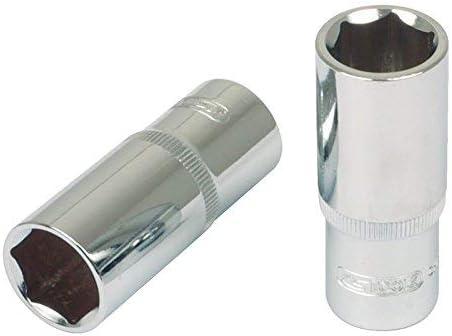Longue 1//4 4,5 mm Clear Deep SK Hand Tool 4042146137383 1//4 Chromeplus Hexagonal Socket