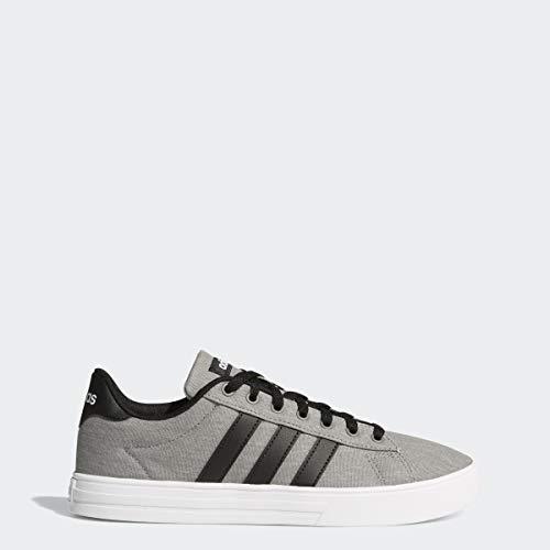 adidas Men's Daily 2.0, Grey/Black/White, 9 M US