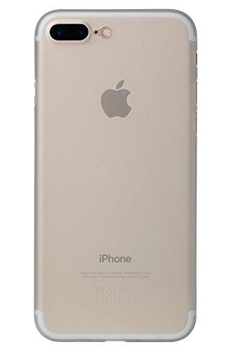 Native Union CLIC Air Case - Semi-Transparent Ultra Slim Protective Skin with Camera Bumper for iPhone 7 Plus, iPhone 8 Plus (Clear)