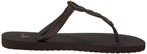 Sanuk Ellipsis Ladies Flip Flops Black