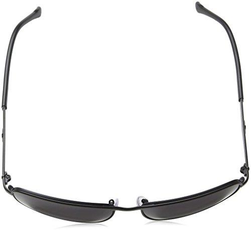 Gris Gafas para Sol de Police Black matt Semi Hombre 4Xqffgp