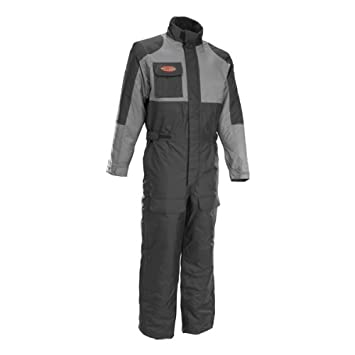 ae2779e6033 Amazon.com: Firstgear Thermo One-Piece Suit - Large/Black/Grey: Automotive