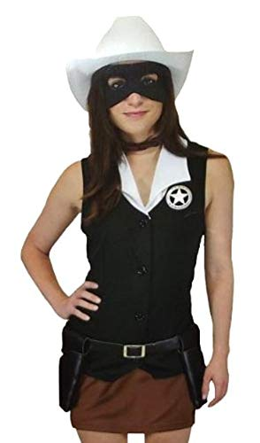 The Lone Ranger Female Lone Ranger Costume Medium ()