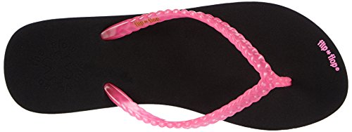 flip*flop slim glow - Sandalias de material sintético para mujer multicolor - Mehrfarbig (201 pink)