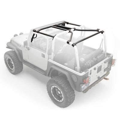 - Smittybilt 76903 SRC Cage Kit 7 pc. Gloss Black SRC Cage Kit