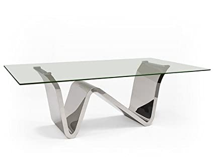 Amazoncom Ultra Modern Glass Conference Table Or Executive - Black glass conference table